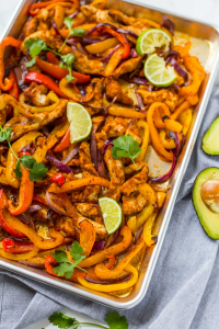 Sheet Pan Chicken Fajitas (Paleo, Whole30, Keto)