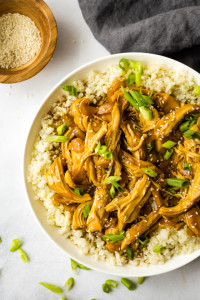 Slow Cooker Chicken Teriyaki (Paleo, Whole30)