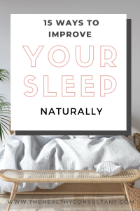 15 Tips to Sleep Better Naturally