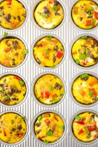 Easy Whole30 Egg Breakfast Muffins (Paleo)