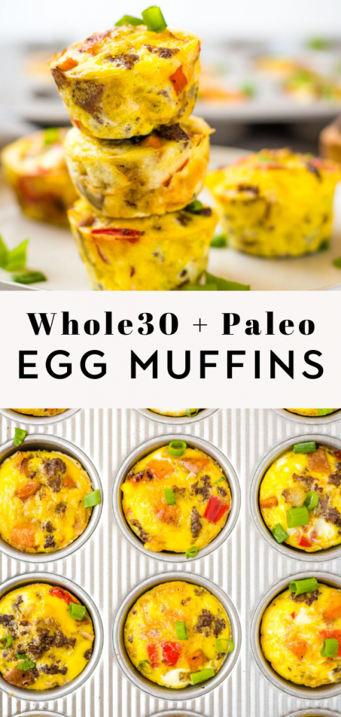 Whole30 and Paleo Egg Breakfast Muffins