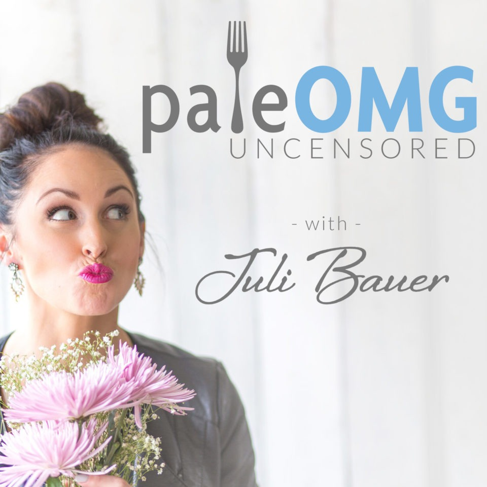 PaleOMG uncensored with Juli Bauer podcast image