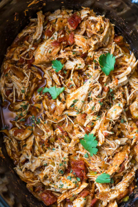 Slow Cooker Shredded Mexican Chicken (Whole30, Paleo)