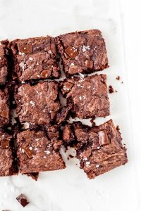 Fudgy Paleo Almond Butter Brownies