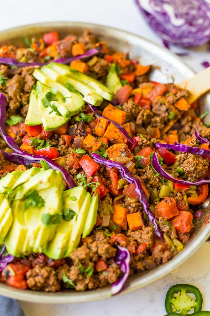Sweet potato taco skillet