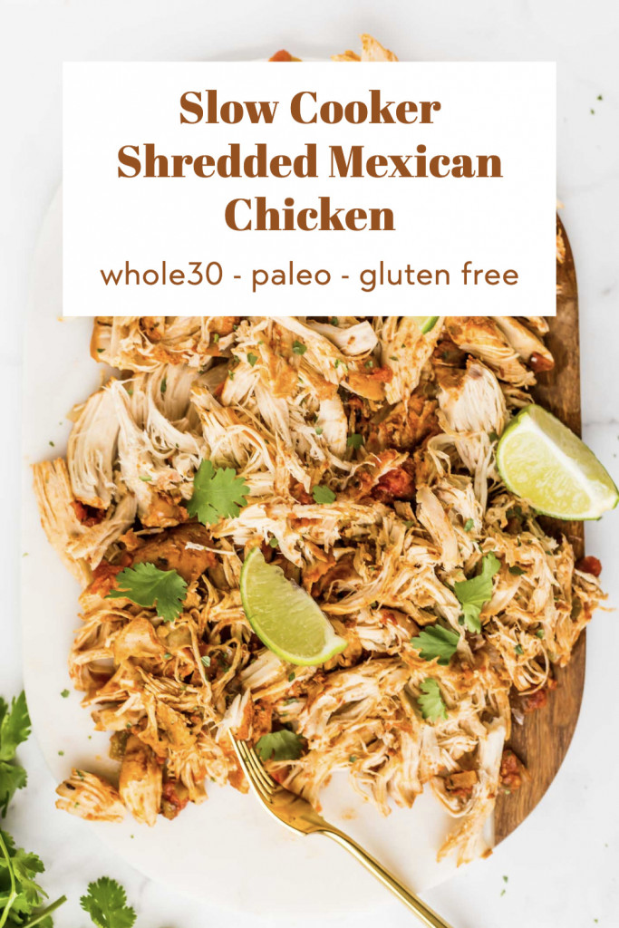paleo slow cooker mexican chicken