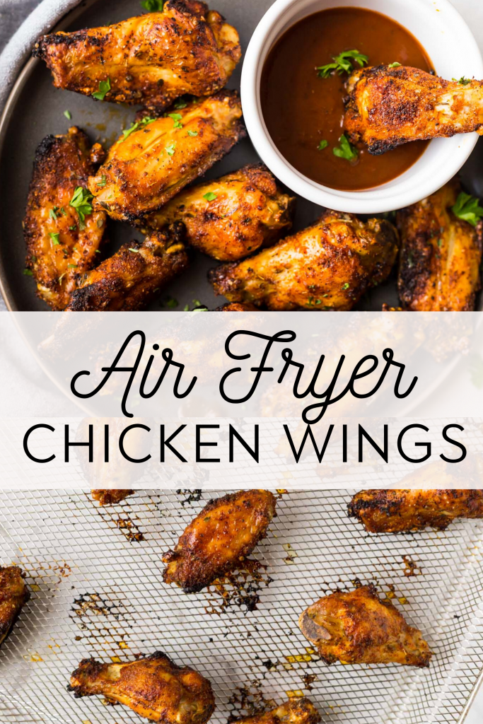 Crispy Air Fryer Chicken Wings Whole30 Paleo Keto The