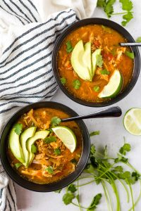 Paleo Chicken Tortilla Soup (Whole30, Keto)