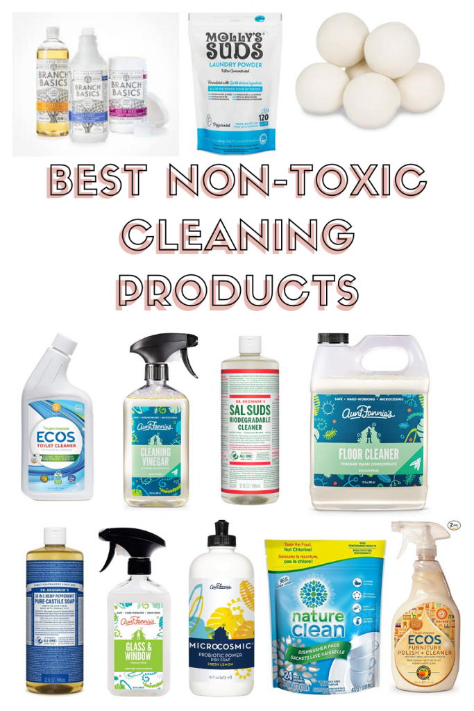 The Best Non Toxic Cleaning Products The Healthy Consultant