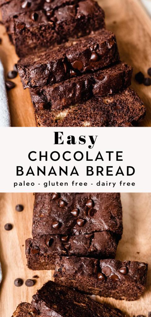 Easy Chocolate Banana Bread