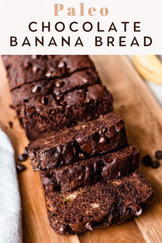 Easy Paleo Chocolate Banana Bread