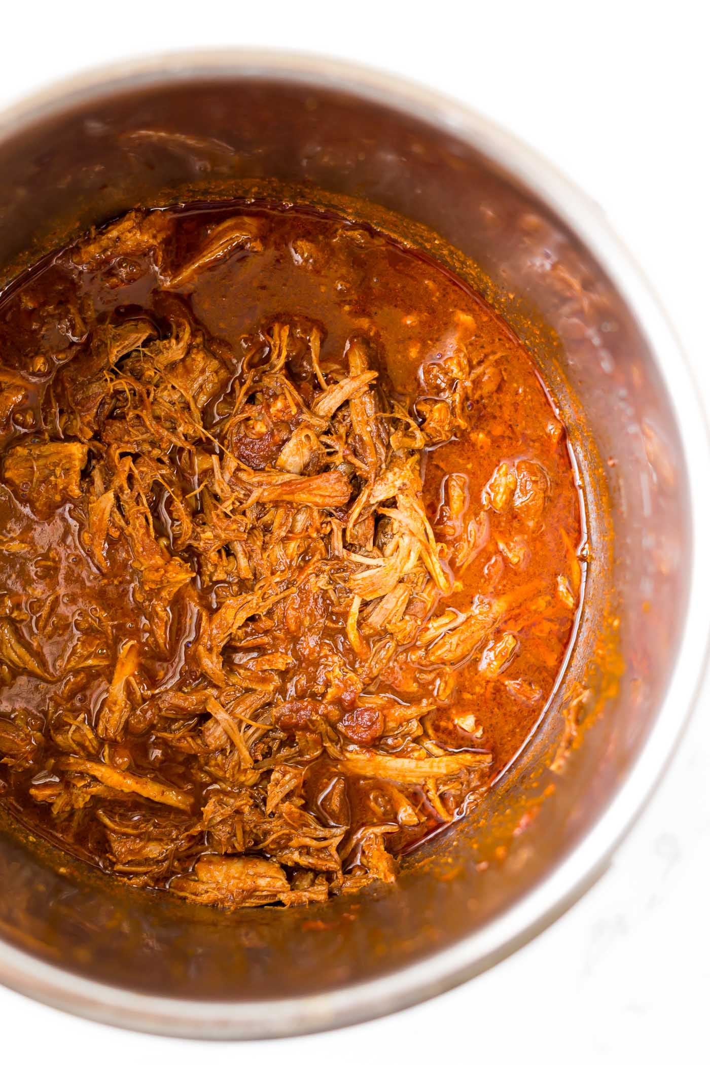 BBQ pulled pork in instant pot