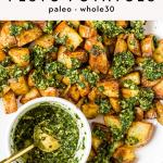 Air Fryer Pesto Potatoes