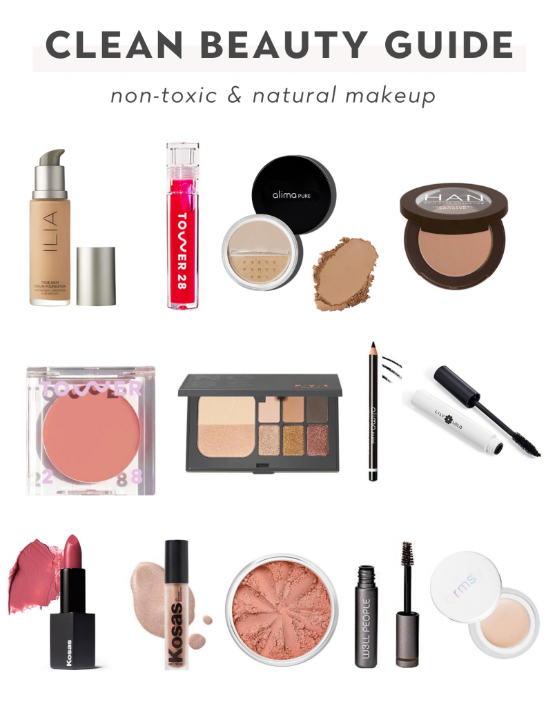 Clean Beauty guide with non-toxic and natural makeup