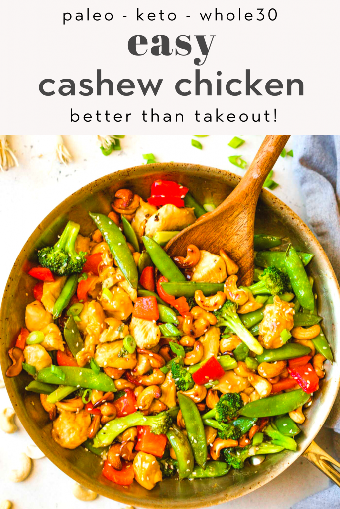 easy paleo cashew chicken