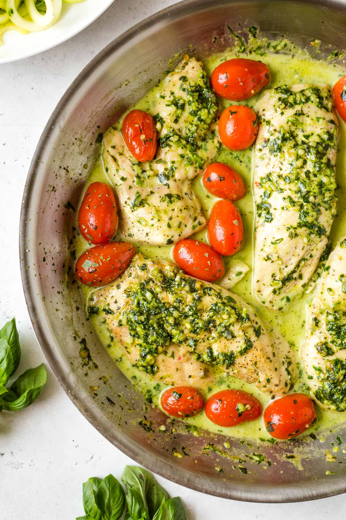 Pesto Chicken Skillet