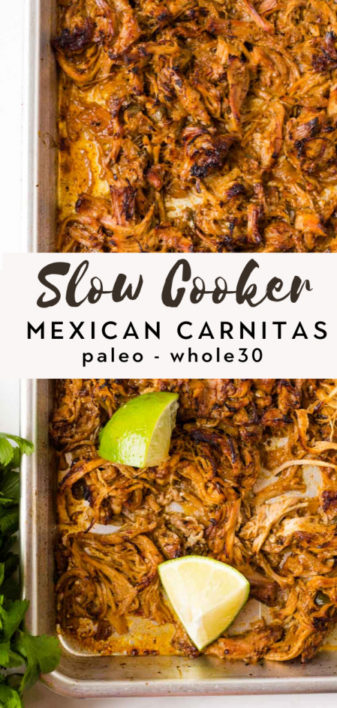 Slow Cooker Mexican Carnitas