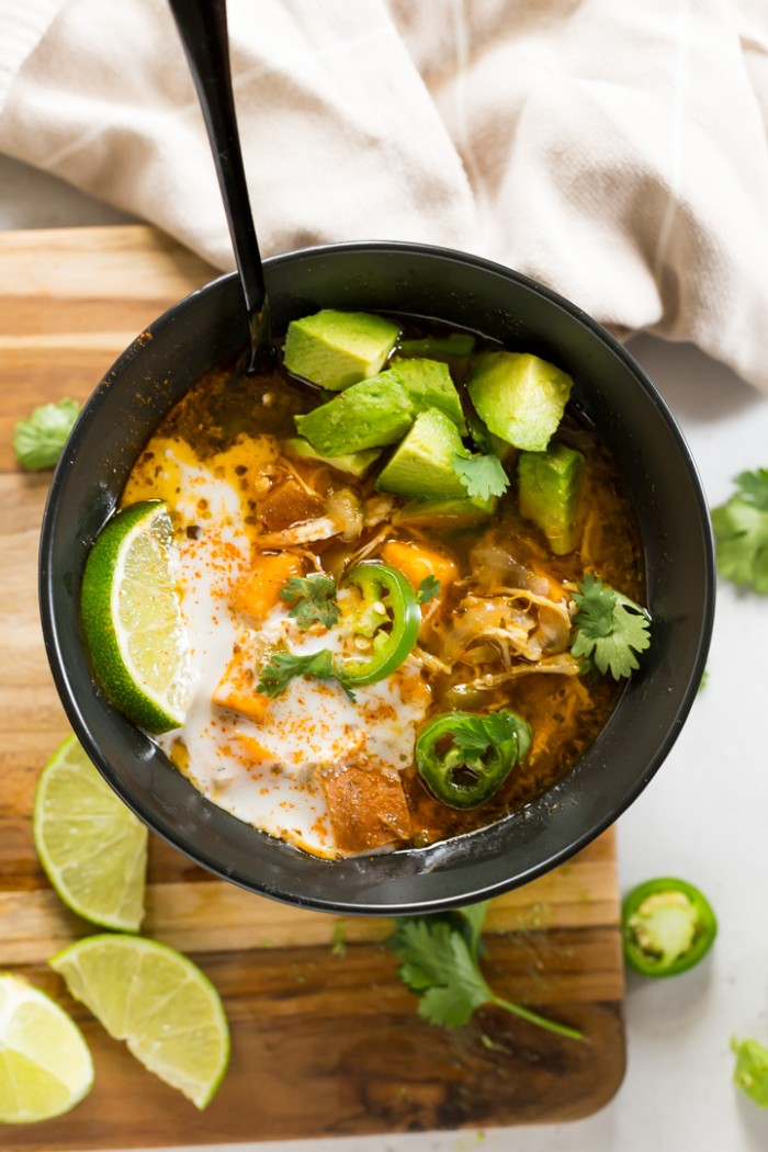 Whole30 White Chicken Chili