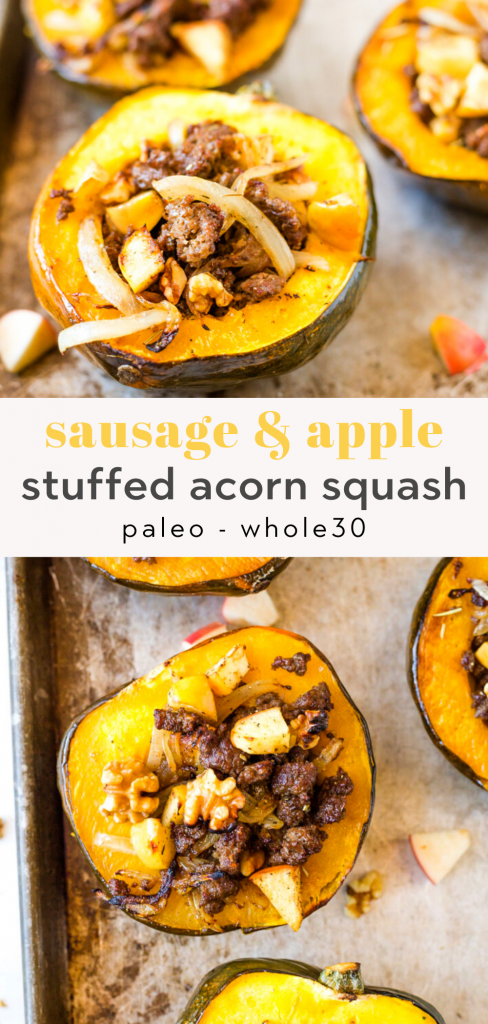 whole30 stuffed acorn squash