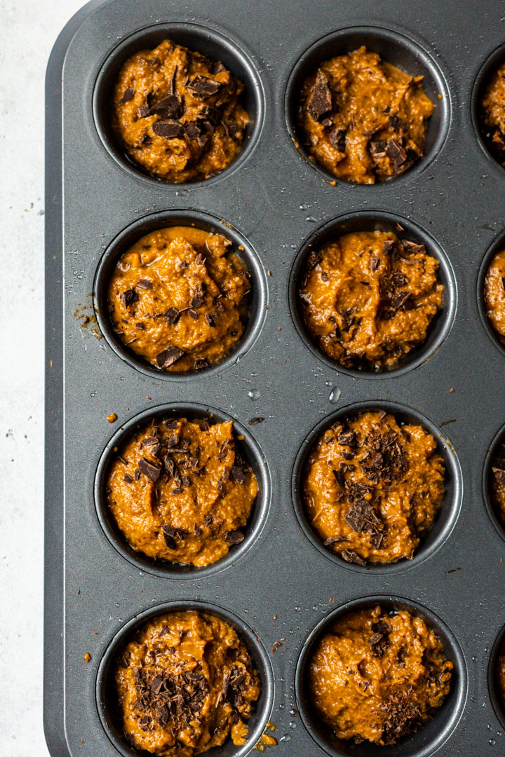 Pumpkin protein powder muffins