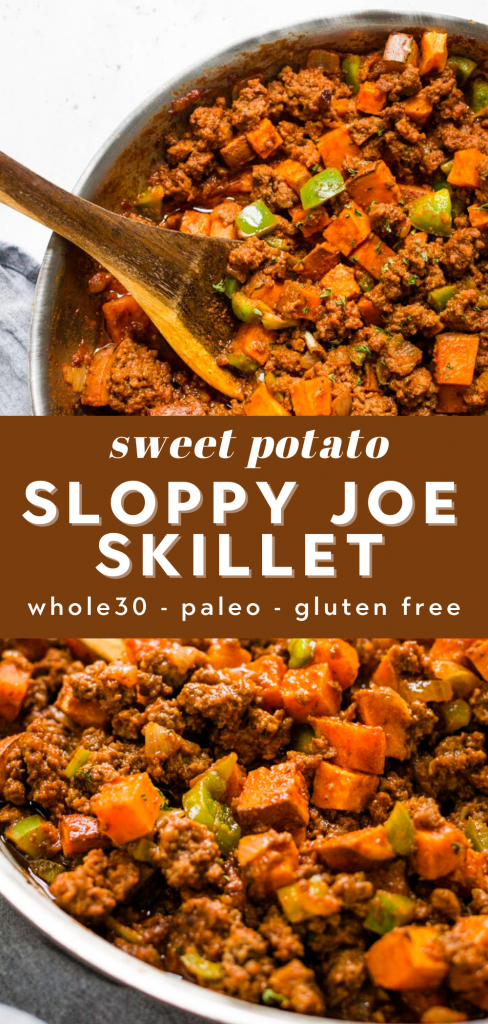 gluten free sloppy joe skillet