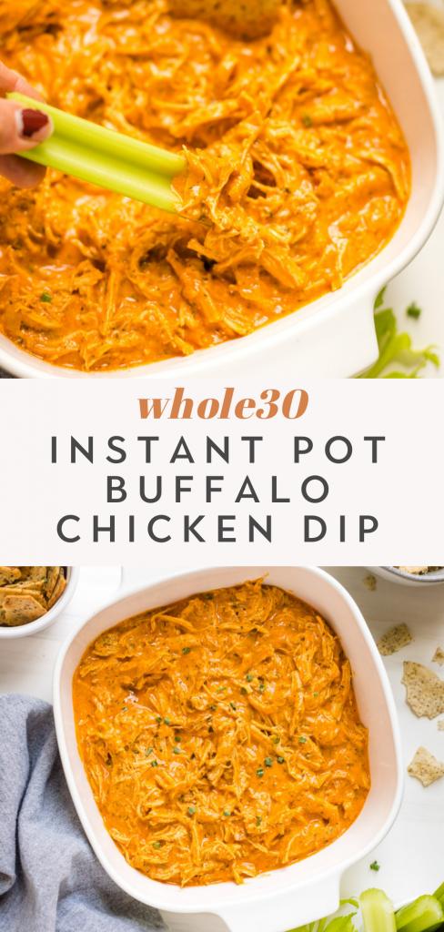 whole30 instant pot buffalo chicken dip